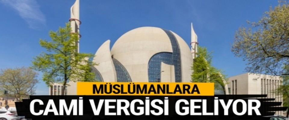 Almanya'da Müslümanlara cami vergisi geliyor?