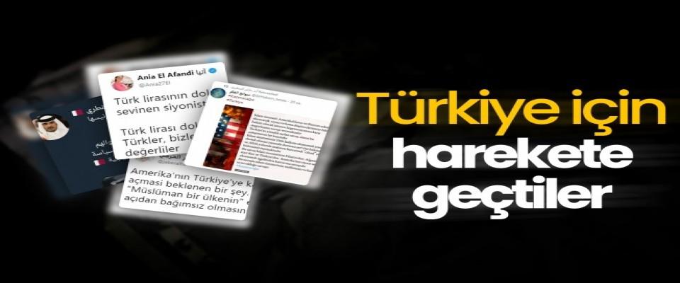 Türkiye için harekete geçtiler!