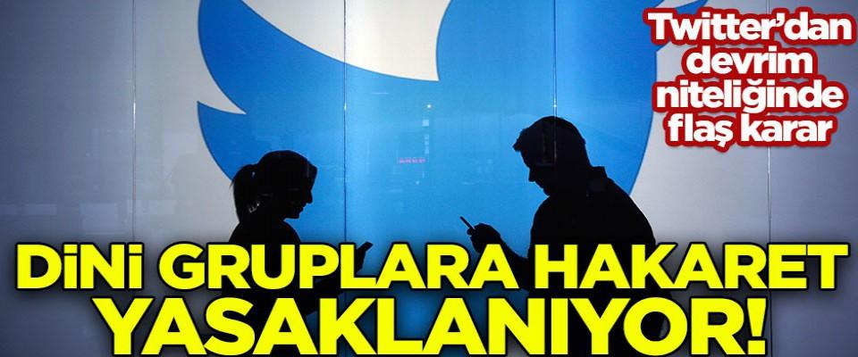 Twitter'dan devrim gibi karar! Dini gruplara hakaretler yasaklanıyor