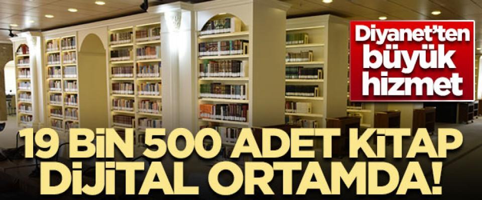 Diyanet'in 19 bin 500 adet el yazma eseri dijital ortamda!