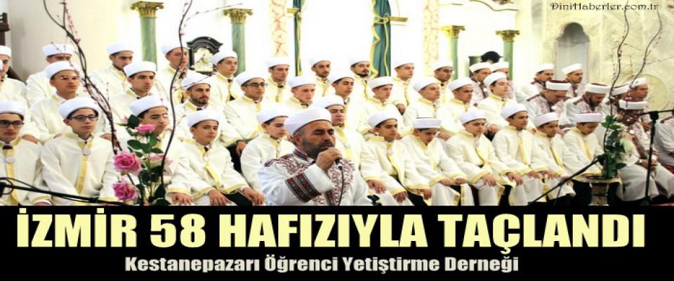 İzmir 58 Hafızıyla Taçlandı