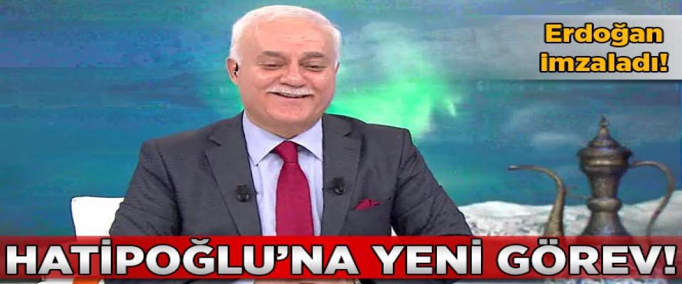 Prof. Dr. Nihat Hatipoğlu,  Rektör Olarak Atandı