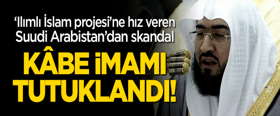 Suudi Arabistan'dan skandal! Kabe imamı profesör Abdulaziz Balila'yı tutukladı