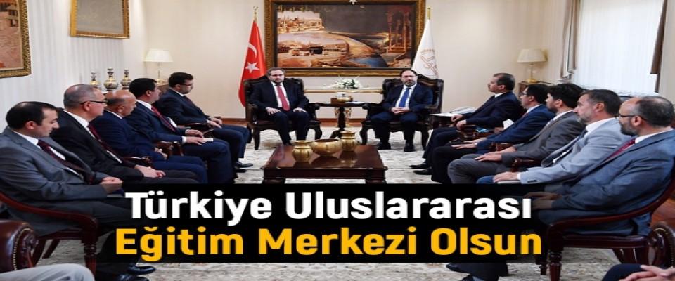 Türkiye Uluslararası Eğitim Merkezi Olsun