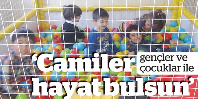 Diyanet camilere çocuk oyun alanı yapacak