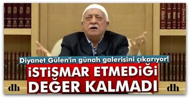 Diyanet, Gülen\'in günah defterini açtı!