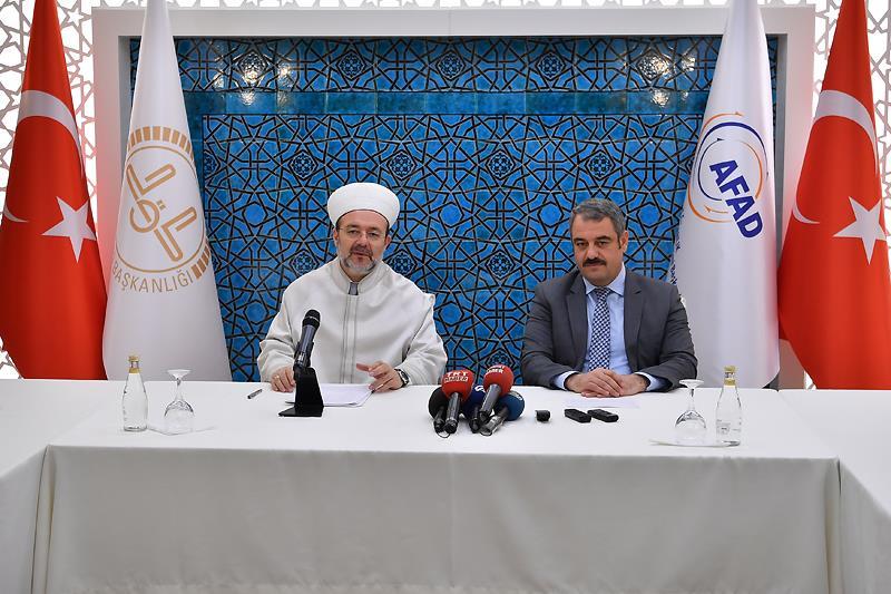 Diyanet ile AFAD arasında işbirliği protokolü