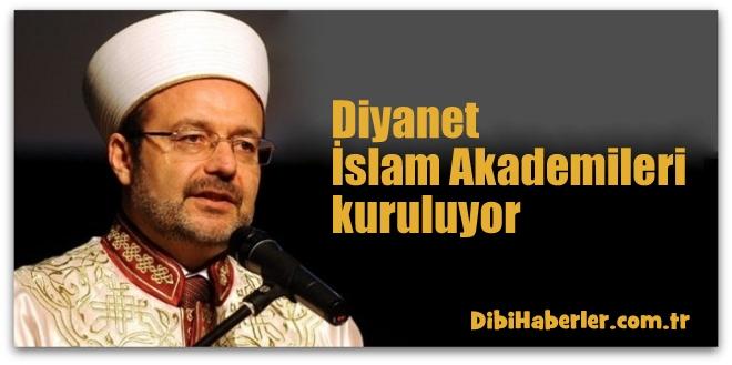 Diyanet İslam Akademileri kuruluyor...