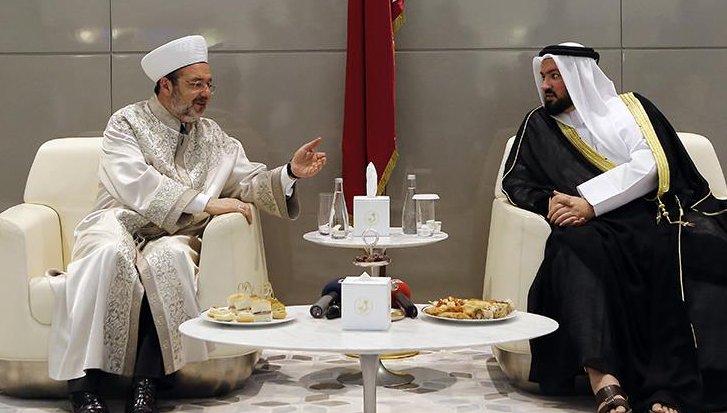 Diyanet İşleri Başkanı Görmez, Katar\'da...