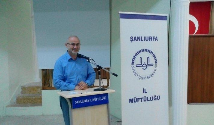 Diyanet İşleri Başkan Yardımcısı Prof. Dr. Yavuz Ünal Şanlıurfa İl Müftülüğü\'nü ziyaret etti.