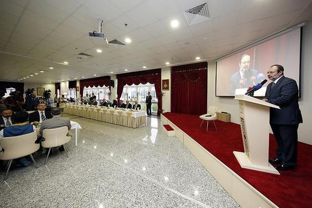 Diyanet personeli iftar sofrasında buluştu…