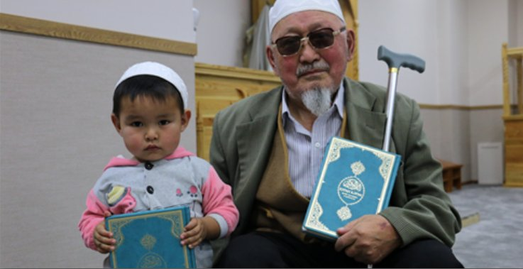 Diyanet Vakfı Moğolistan\'da 4 bin Kazakça Kur\'an dağıttı