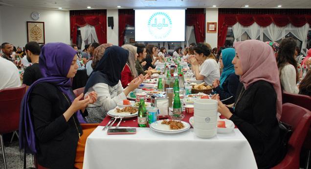 Diyanet'ten üniversite öğrencilerine iftar…