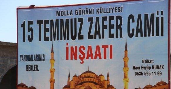 Diyarbakır\'a 15 Temmuz Zafer Camisi