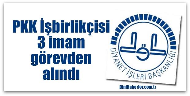 Diyarbakır\'da 3 imam görevden alındı