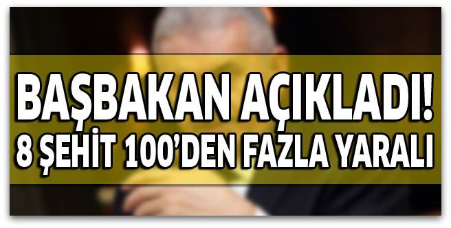Diyarbakır\'da hain saldırı! 8 şehit 100\'den fazla yaralı