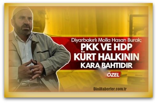 Diyarbakırlı medrese alimi Hasan Burak: PKK\'nın Hocası Türk Soludur