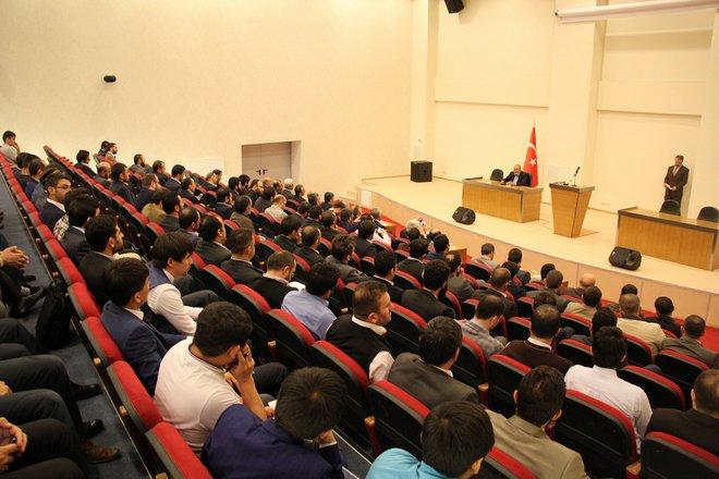 Dr. Hamdi Arslan ve Mustafa Demirkan Kayseri\'de