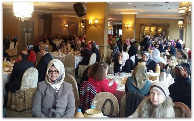 Dünya Kadınlar gününde Kadınlar Kahvaltıda Buluştu