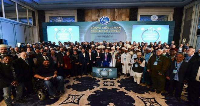 """""""Dünya Müslüman Azınlıklar Zirvesi"""" sonuç bildirgesinin okunmasıyla sona erdi"""