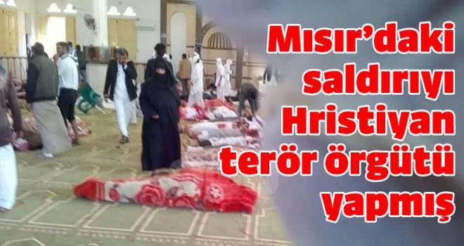 Mısır'daki saldırıyı Hristiyan terör örgütü yapmış
