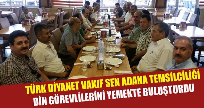 Türk Diyanet Vakıf Sen Adana Temsilciliği Sendika Üyelerine Yemek Verdi