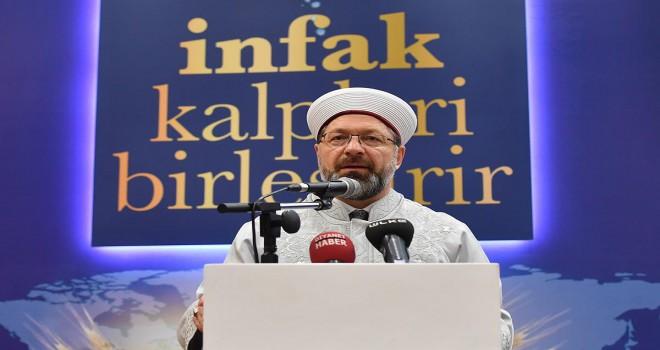 Diyanet Ramazan ayı temasını belirledi, Ramazan ve İnfak