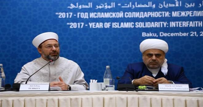 Diyanet İşleri Başkanı Erbaş'tan Kudüs ve Mescid-i Aksa çağrısı