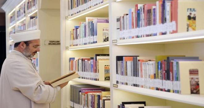 Diyanet İşleri Başkanlığı Kütüphanesi açıldı…