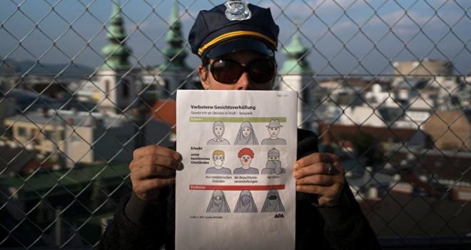 Danimarka'da Yüzü Örten Giysilere Yasak