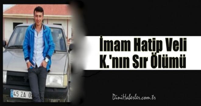 Alaşehir'de vekil imam intihar etti