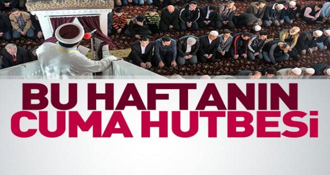 Diyanet 01.12.2017 Tarihli Cuma Hutbesi