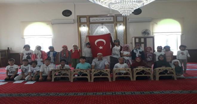 Seyrek'te Eller 15 Temmuz Şehitleri için Duaya Durdu