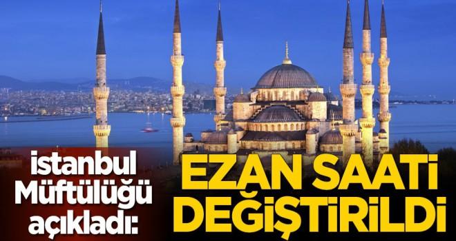 İstanbul'da Sabah ezanı imsak vaktinde okunacak