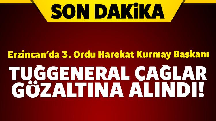 Erzincan\'da tuğgeneral gözaltına alındı!