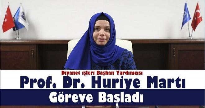 Prof. Dr. Martı Diyanet İşleri Başkan Yardımcılığı görevine başladı