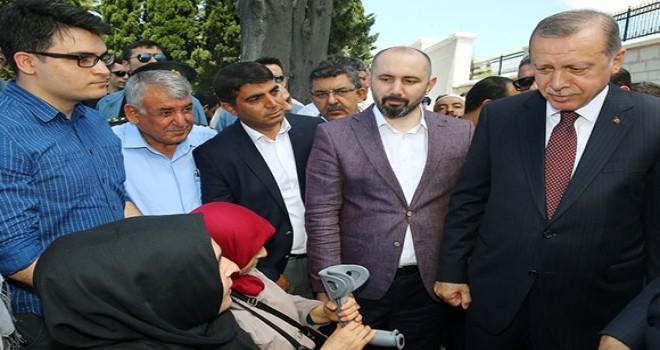 Cumhurbaşkanı Erdoğan ve Başbakan Yıldırım 15 Temmuz şehitliğinde