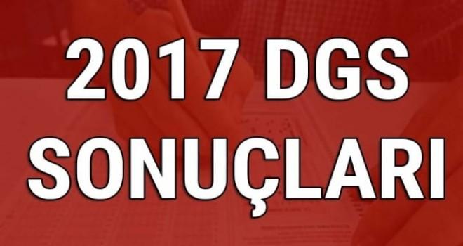 DGS sonuçları açıklandı.