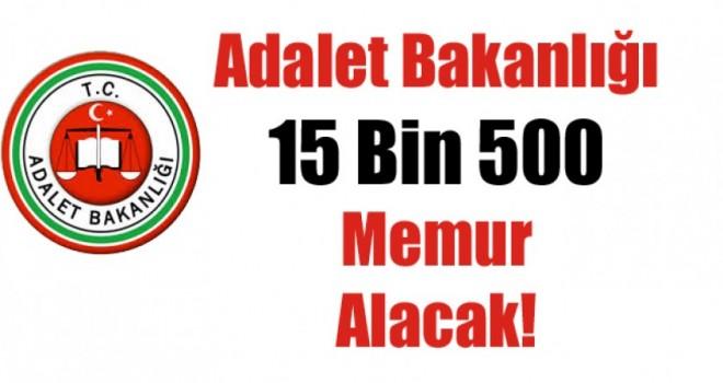 Adalet Bakanlığı 15 Bİn 500 Kamu Personeli Alımı Yapacak
