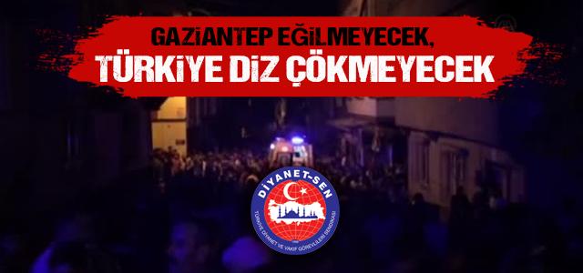 Gaziantep Saldırısının Hedefi Bütün İnsanlıktır