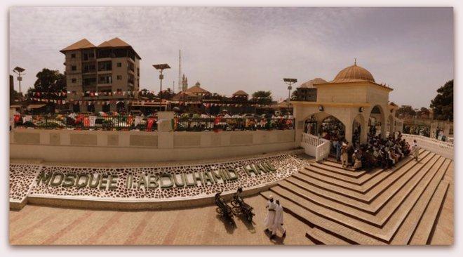 Gine\'nin en büyük camisi olan Abdulhamit Han Camii açıldı