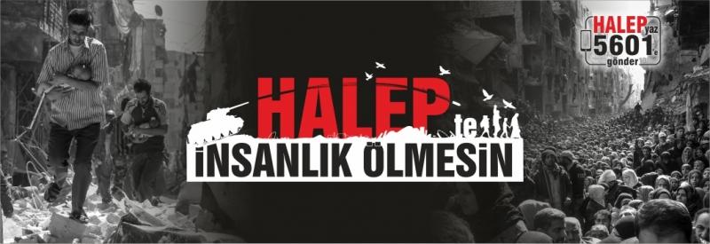 Halep\'te İnsanlık Ölmesin