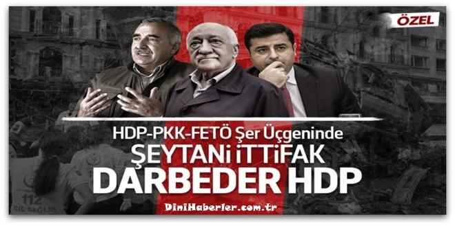 HDP-PKK-FETÖ Şer Üçgeninde Şeytani İttifak