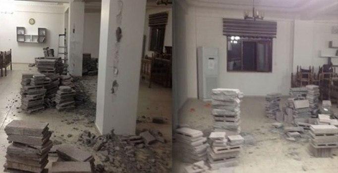 HDP\'li belediye Kuran kursunu yıktı!