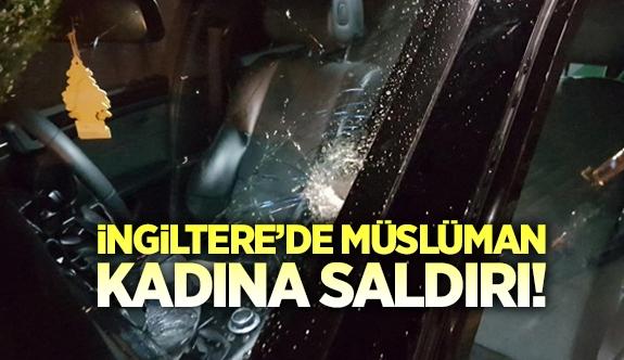 İngiltere\'de Müslüman kadına ırkçı saldırı