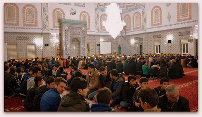 İscehisar\'da Cami Gençlik buluşmalarına Yoğun Katılım