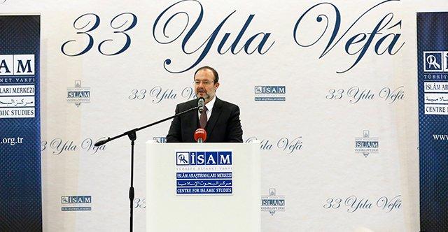 İslam Araştırmaları Merkezi (İSAM) \'33 Yıla Vefa\' Programı