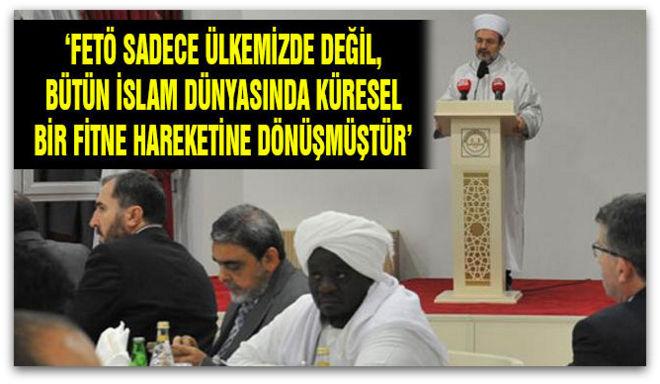 İslam Dünyası Sivil Toplum Kuruluşları Birliği heyetinden, Diyanet\'e Ziyarettti.