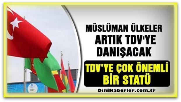 İslam İşbirliği Teşkilatı TDV\'ye İnsani Yardım Danışmanlık Statüsü Verildi