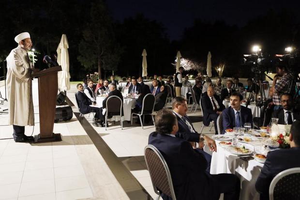 İslam Ülkeleri Büyükelçileri iftar sofrasında buluştu